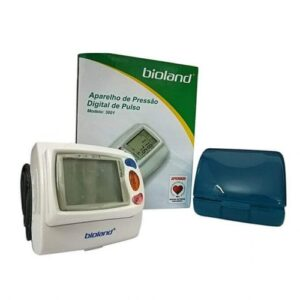 Bioland Wrist Blood Pressure Monitor with Portable Comfort Cuff