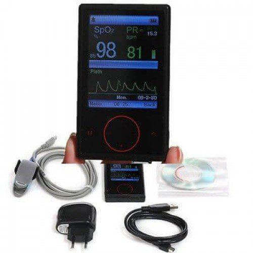 CONTEC CMS60F Handheld Pulse Oximeter Spo2 Monitor