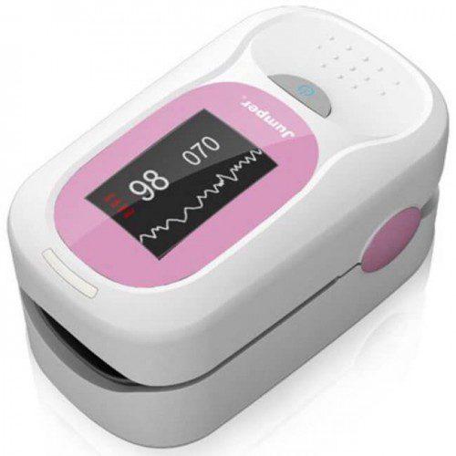 Jumper Portable Digital Finger Pulse Oximeter Blood Oxygen SpO2 Saturation Monitor